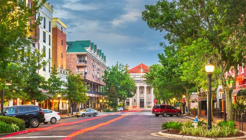 downtown gainesville florida street